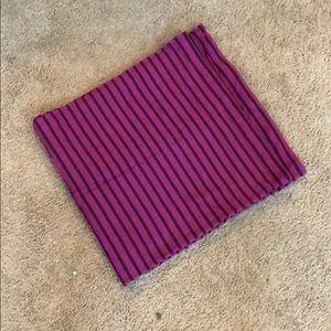 Lululemon pink stripe vinyasa scarf